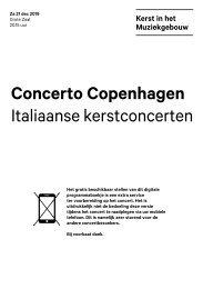 2019 12 21 Concerto Copenhagen