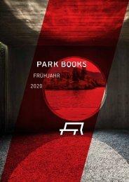 Park Books Vorschau Fruehjahr 2020