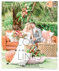 "Real Weddings Magazine's ""Love on the Links"" Styled Shoot - Winter/Spring 2020 - Featuring some of the Best Wedding Vendors in Sacramento, Tahoe and throughout Northern California!"