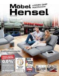 Möbel Hensel Dezember 2019
