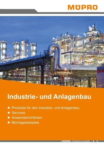 MÜPRO Broschüre Industrie- und Anlagenbau AT