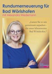 Alexandra Wiedemann für Bad Wörishofen 2020