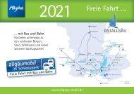 allgäumobil Fahrplanheft 2021