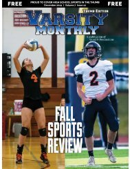 December 2019 Issue of Varsity Monthly Thumb Magazine