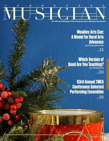 TN Musician Vol. 72, No. 1
