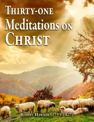 Thirty-one Meditations on Christ