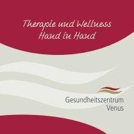 Gesundheitszentrum Venus - Parkhotel Bad Griesbach - Aktuelle Preisliste