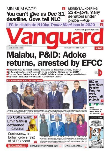 20122019 Malabu P Id Adoke Returns Arrested By Efcc