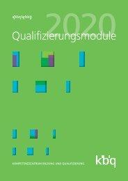 Qualifizierungsmodule 2020