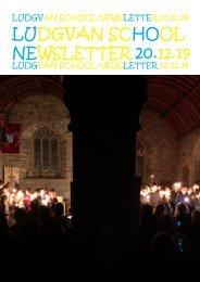 Newsletter 7 - 20.12.19