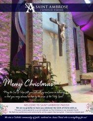 SA19 Christmas Bulletin