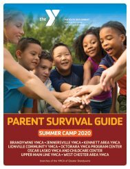 Summer Camp - Parent Survival Guide and Handbook 2020