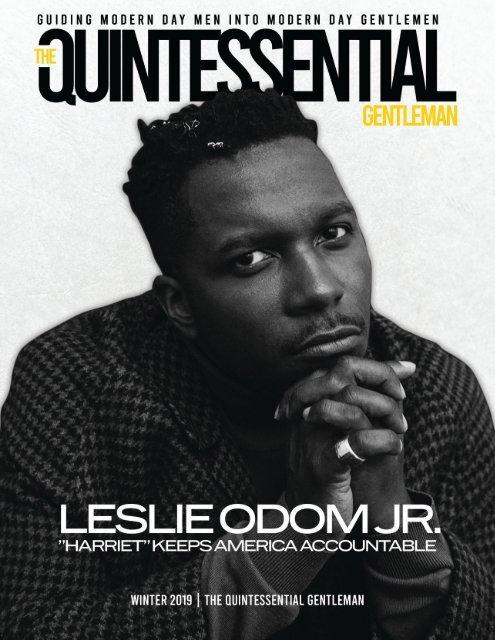 Leslie Odom Jr. | Family Issue 2019