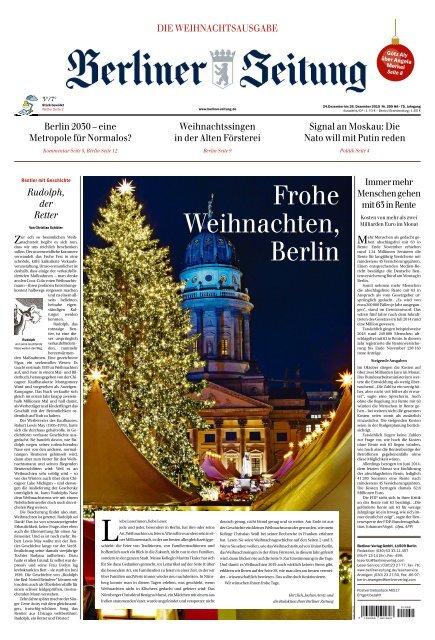 Berliner Zeitung 24.12.2019