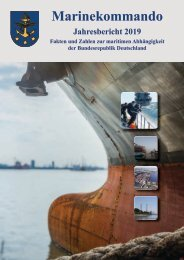 Marinekommando Jahresbericht 2019