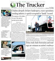 The Trucker Newspaper - January 1, 2020