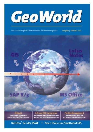 28.9.00 Aufbau GeoWorld 5 - Mettenmeier GmbH