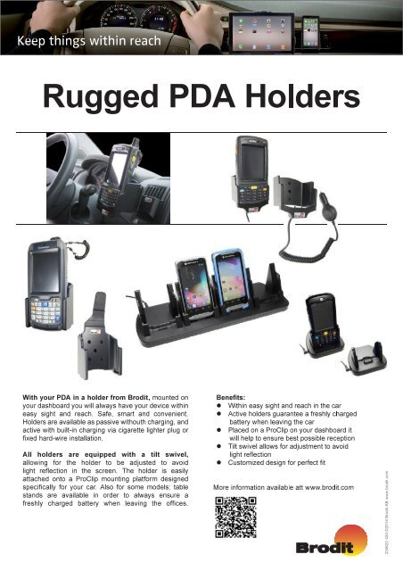 Holders with system Overview