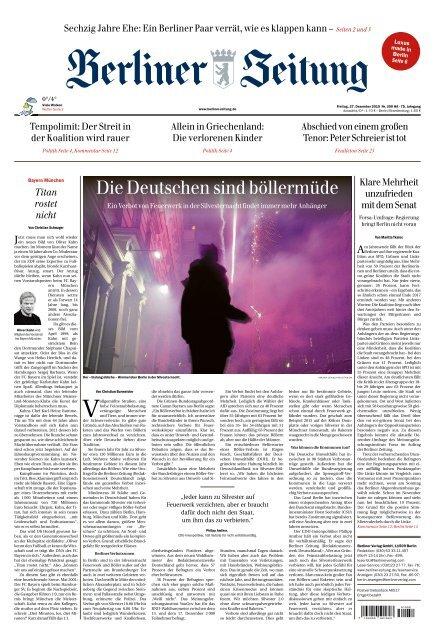 Berliner Zeitung 27.12.2019