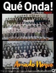 Qué Onda! San Pedro, Edición 117 Diciembre 2019