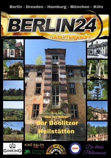 Über den Ruinen der Beelitzer Heilstätten   – der extravagante Gruselort Brandenburgs