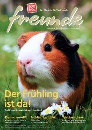 Freunde-Magazin Ausgabe 1/2009 komplett 56 Seiten