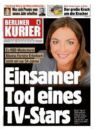 Berliner Kurier 29.12.2019
