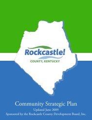 Community Strategic Plan - Rockcastle County, Kentucky