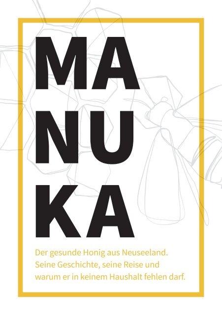 Manuka Honig – Der gesunde Honig aus Neuseeland