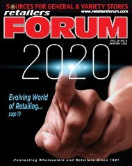 Retailers Forum Magazine JAN 2020