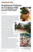 Local Flavour Southwest Ontario Culinary Guide - Page 6