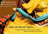 Spin Me Round Again | Kammerchor Rheinland-Pfalz | Projekt 26