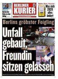 Berliner Kurier 30.12.2019