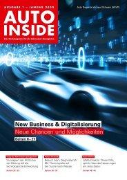 AUTOINSIDE Ausgabe 01 – Januar 2020