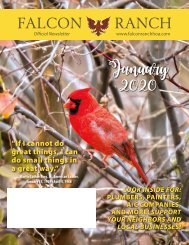 Falcon Ranch January 2020