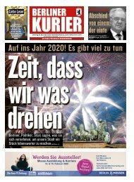 Berliner Kurier 31.12.2019