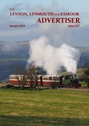 Lynton, Lynmouth and Exmoor Advertiser, January 2020