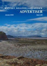 Watchet, Williton and Quantock Advertiser, January 2020