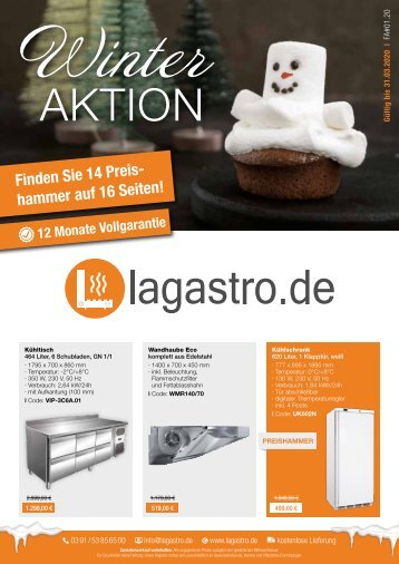 Winteraktion LaGastro.de