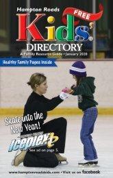 Hampton Roads Kids' Directory: January 2020 Issue