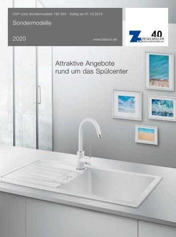Blanco Sondermodelle 2020