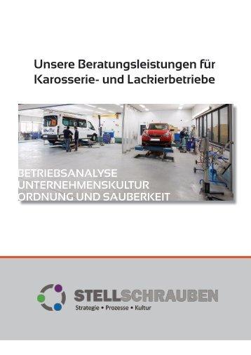 Beratungsleistungen für Karosserie- und Lackierbetriebe