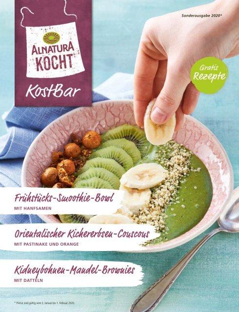 Alnatura Kostbar-Rezeptjournal 1. Ausgabe 2020
