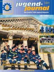 Das starke THW-Jugend Magazin - THW-Jugend eV