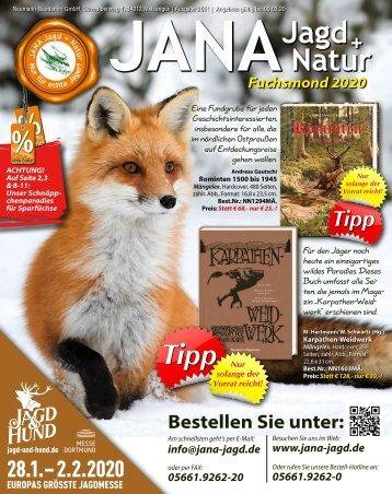 Winterangebote von JANA Jagd+Natur im Januar 2020