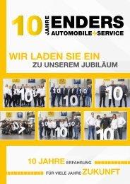 Jubiläumsmagazin Renault 10 Jahre