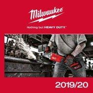 Programmübersicht Milwaukee