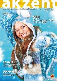 akzent Magazin Januar '20 Bodensee-Oberschwaben