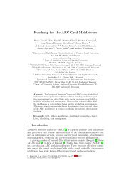 Roadmap for the ARC Grid Middleware