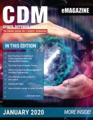 Cyber Defense eMagazine January 2020 Edition